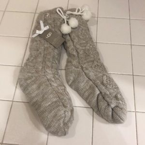 Ugg fleece lined cozy socks